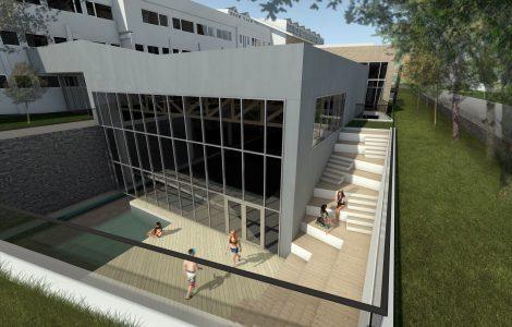 Svømmehallen og utebasseng
